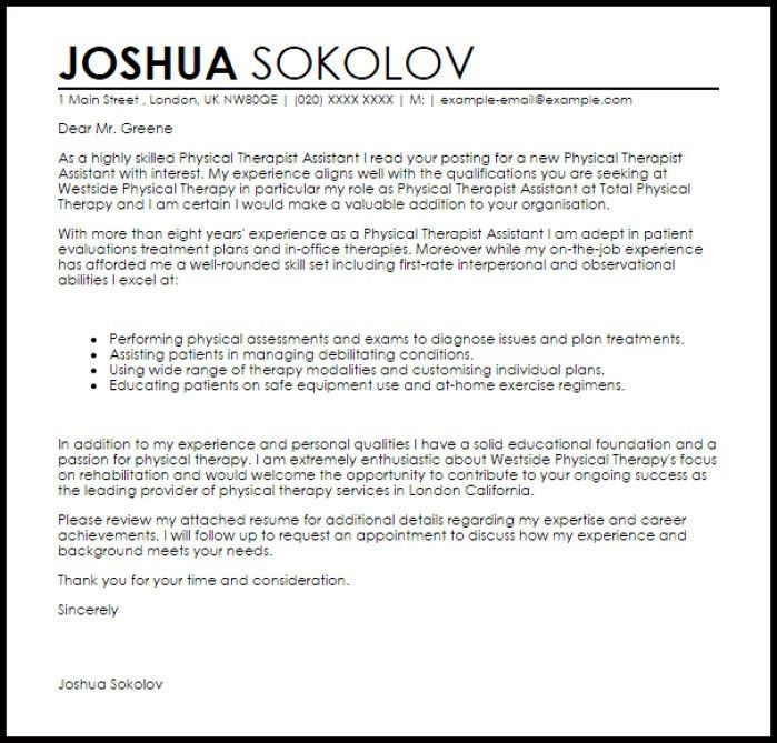 Rehab Aide Cover Letter