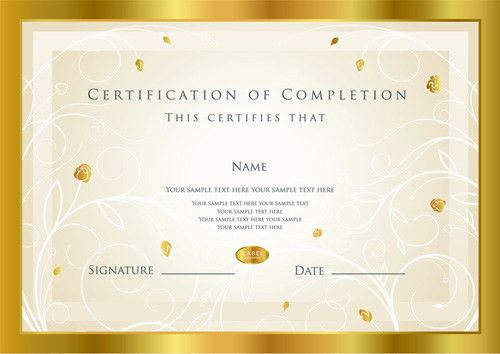 Best Certificates design vector set 03 - Vector Cover free download