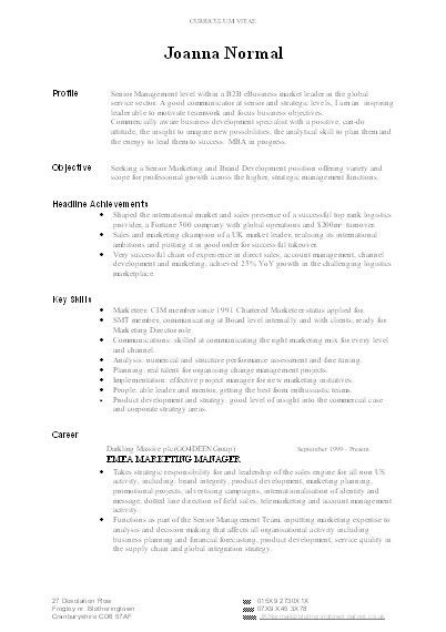 Appealing Well Written Resume 3 Best Resume Examples For Your Job ...