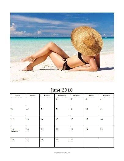 2016 Photo Calendar Templates MS Word - Free Printable ...