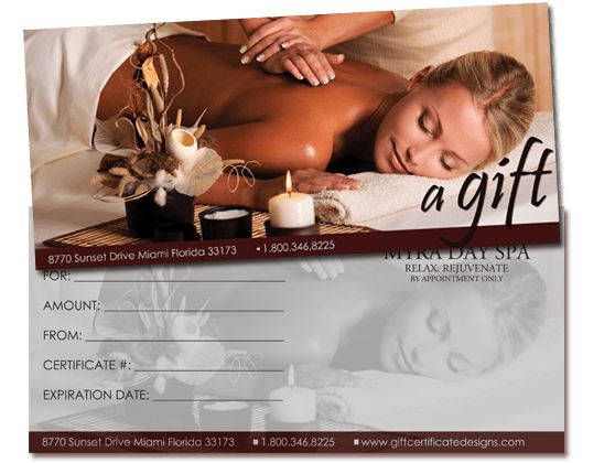 Print Your Own Gift Certificates Using Easy Templates | For the ...