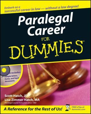 Paralegal Career for Dummies - Walmart.com