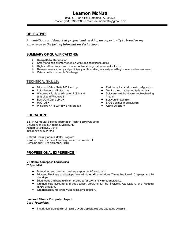 security specialist resume professional personnel security