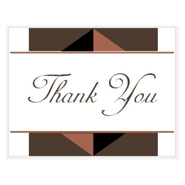 Thank You Card: Free Professional Thank You Card Thank You Cards ...