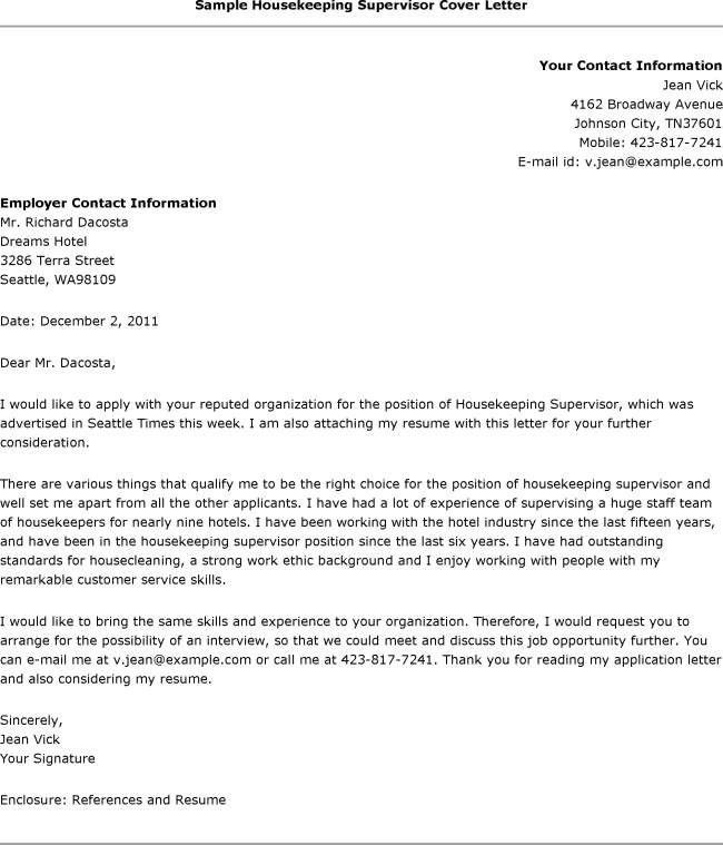Cover Letter Email Sample | Experience Resumes