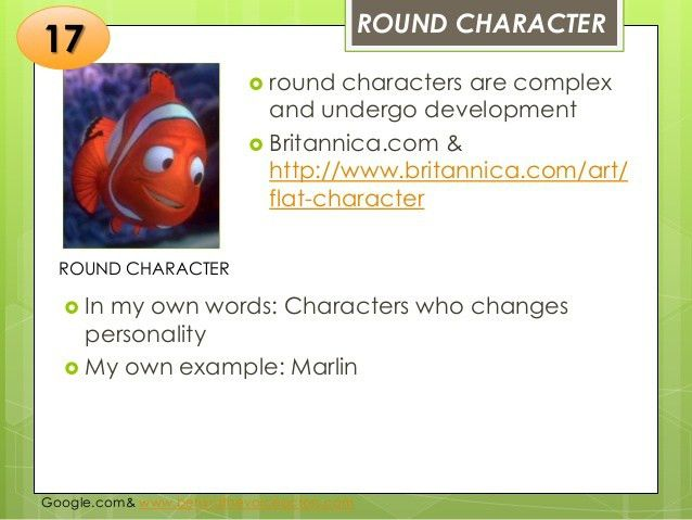 Types of Character in Literature -- Honey Bautista