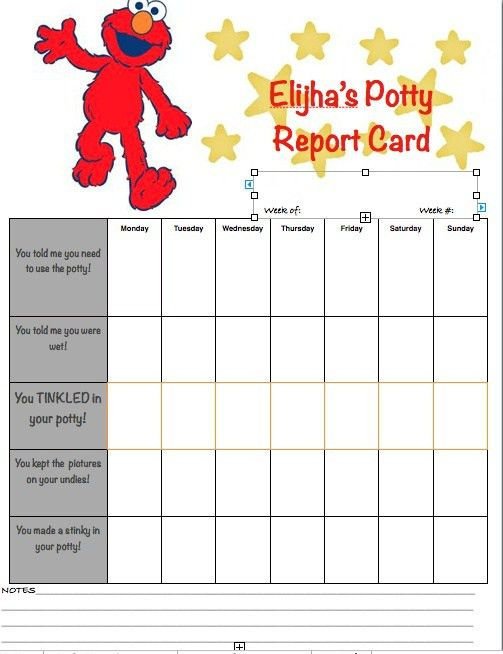 10 Best Images of Elmo Potty Training Reward Chart - Elmo ...