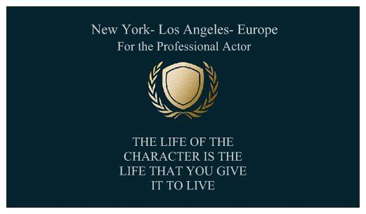 The Actor's Methodology© — Michael Luggio- Acting Classes For the ...