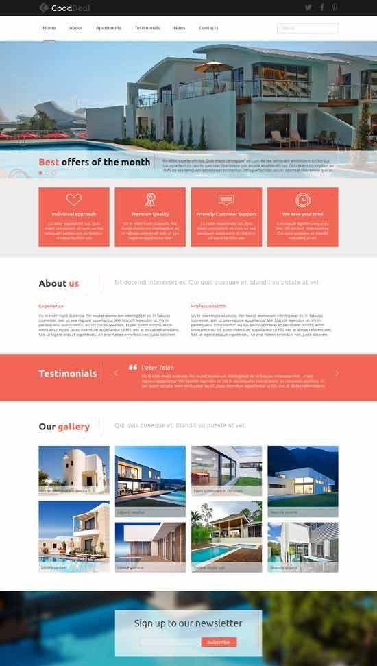 30+ Best Real Estate Joomla Templates 2017 - freshDesignweb