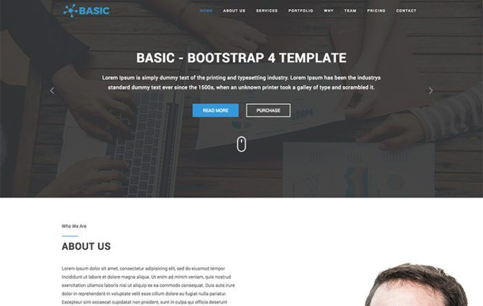 50+ Free Responsive Website Templates and Themes
