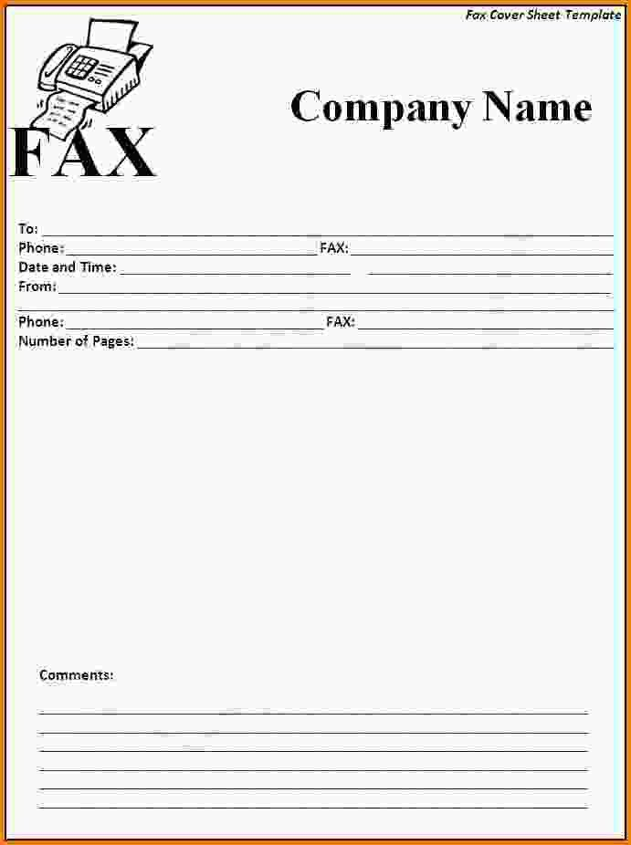 Cover Sheet Template.fax Cover Letter Example Fax Cover Sheet Fax ...