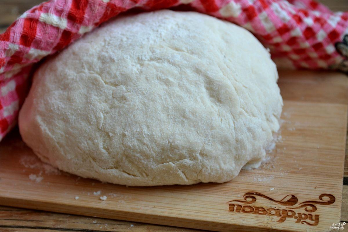 Как сделать бездрожжевое тесто для пирога с мясом