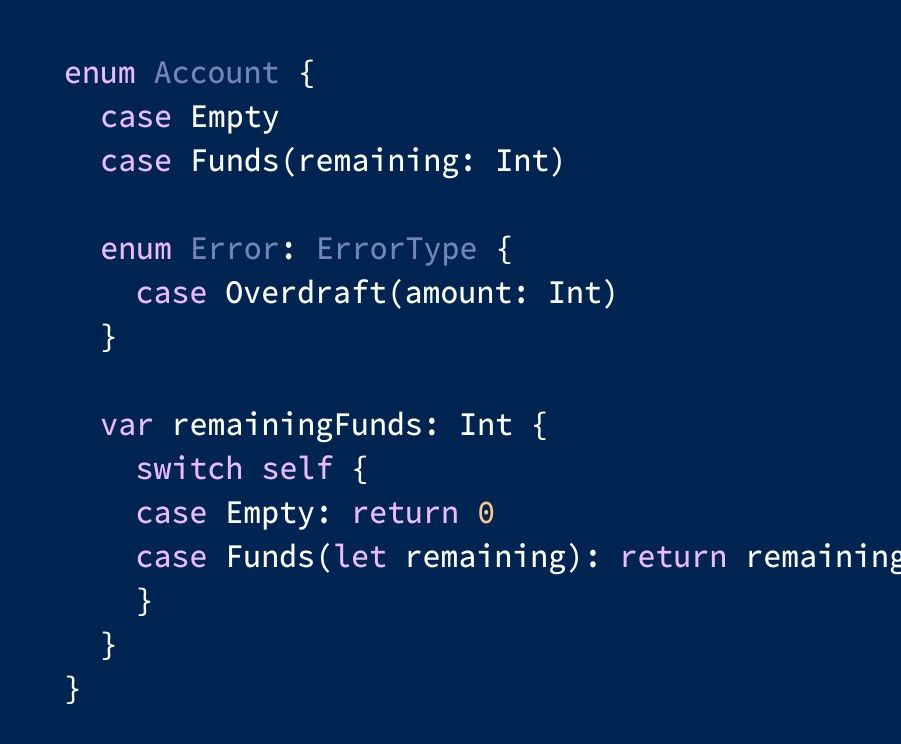 Advanced & Practical Enum usage in Swift