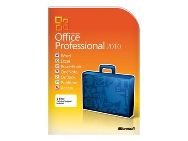 Microsoft Office 2010 Professional Software - Newegg.com