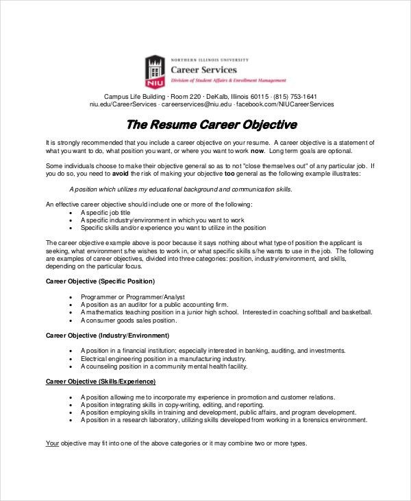 Job Objectives Resume. resume sales assistant cv uk sample ...