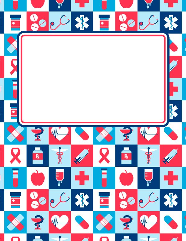 Free printable tie dye binder cover template. Download the cover ...