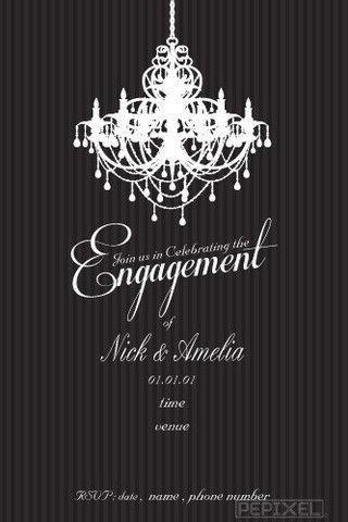 Cele mai bune 25+ de idei despre Engagement invitation template ...