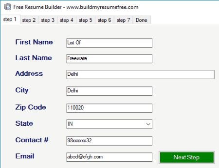 9 Best Free Resume Building Software For Windows