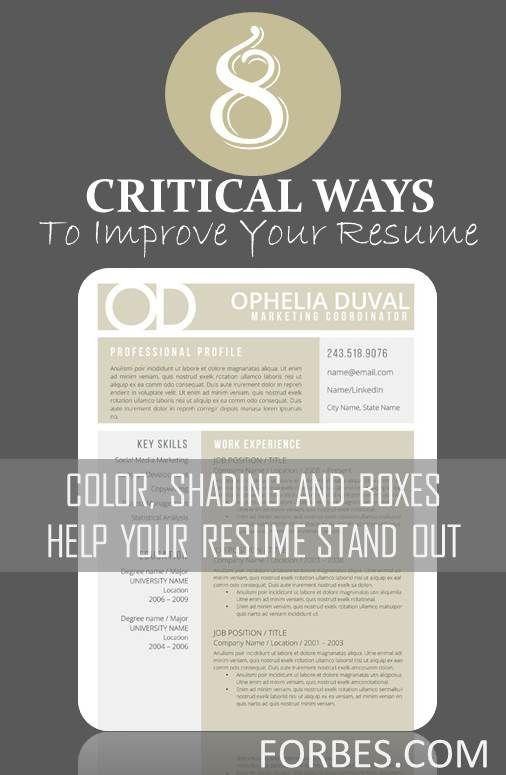 163 best Resume Tips images on Pinterest | Resume tips, Resume ...