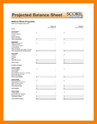 7+ blank balance sheet template free | catering resume