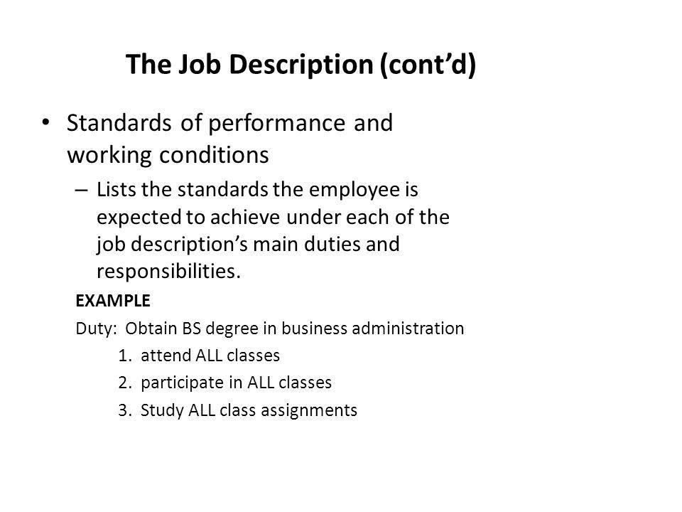 Develop Personnel plans and Job Description - ppt video online ...