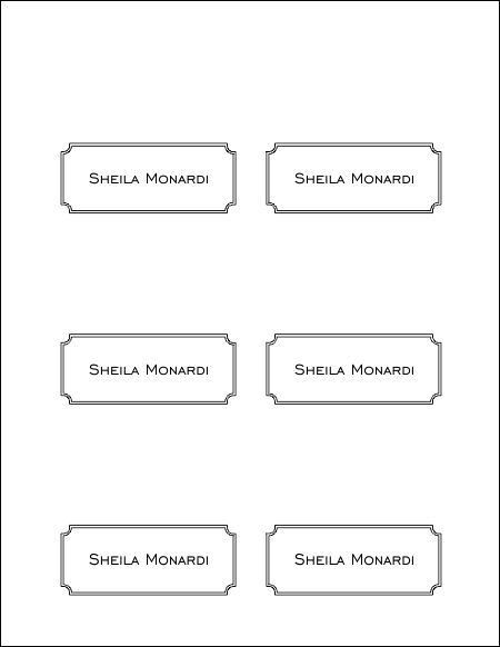 free place card template 6 per sheet sample place card template 6