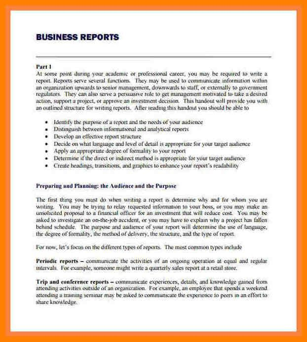 6+ example of a report layout | sales resumed