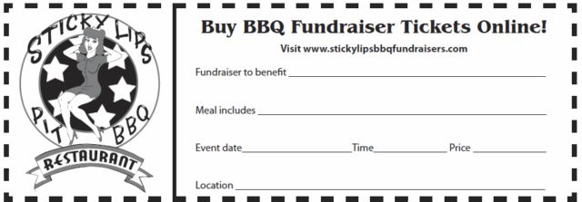 What's Up To You - Sticky Lips BBQ Fundraisers