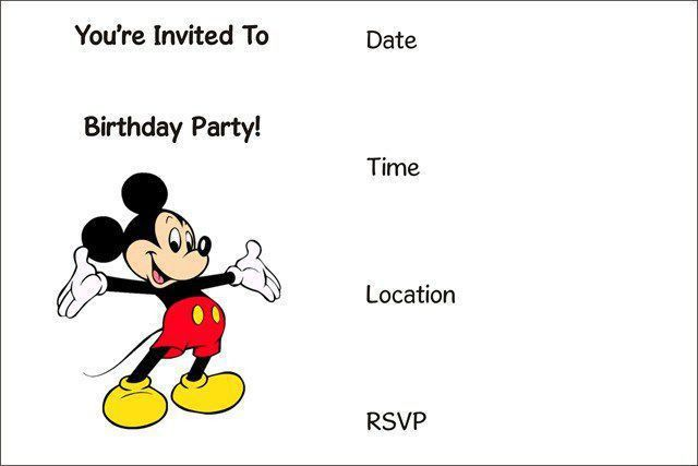 50 Free Birthday Invitation Templates - You Will Love These ...