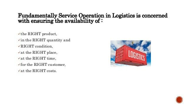 Entry level job in Logistics Company