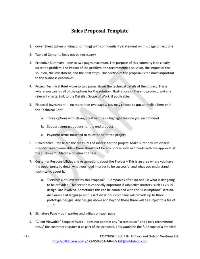 Customer Proposal Template. 10 concept proposal examples samples ...