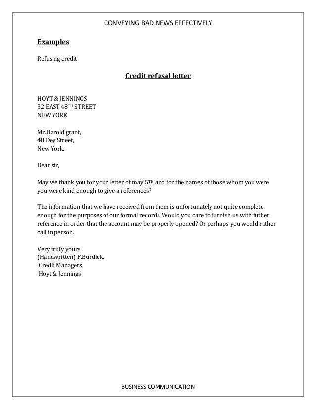 Examples Of Bad Business Letters   The Best Letter Sample