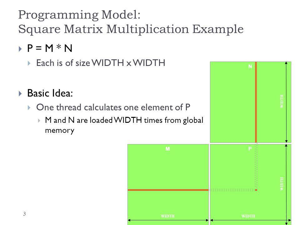 Matrix Multiplication in CUDA - ppt download