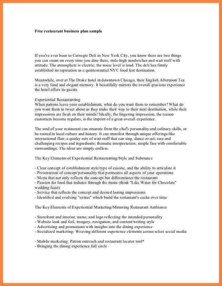 9+ Formal Business Plan Sample | Bussines Proposal 2017