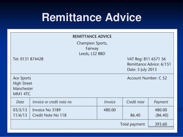 12 Remittance Templates - Excel PDF Formats