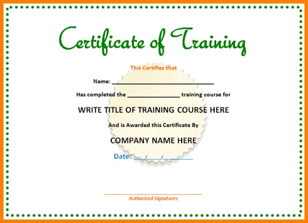 7+ training certificate format | sample of invoice