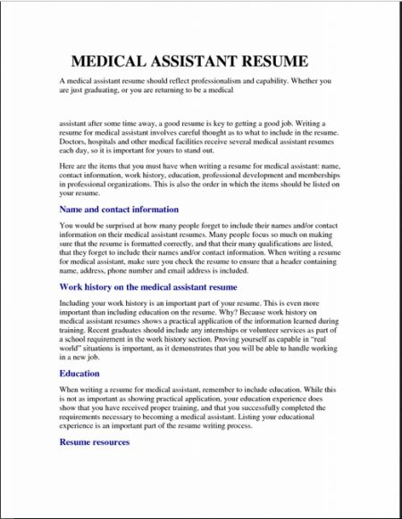 sample job resume resume cv cover letter. sample resume with no ...