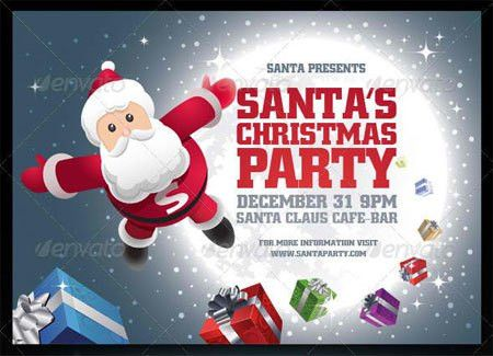 20 Top Premium Christmas Party Flyer Templates