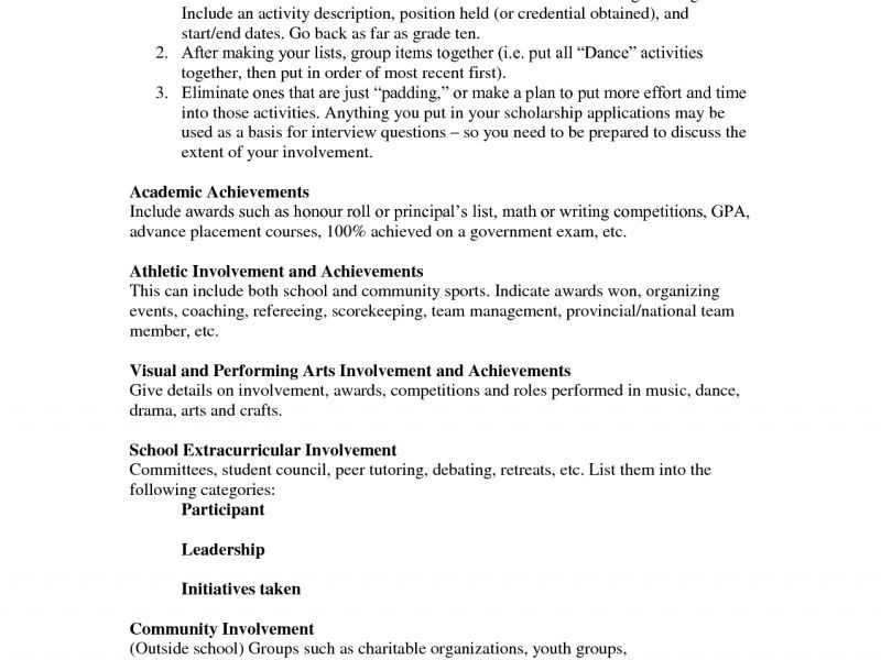 Projects Design Scholarship Resume 7 Resume Examples Wonderful 10 ...