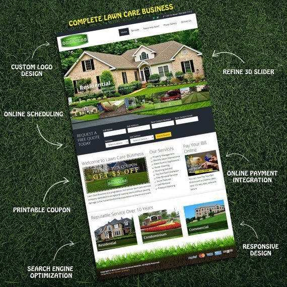 49 best Lawn Care Marketing images on Pinterest | Hangers, Lawn ...
