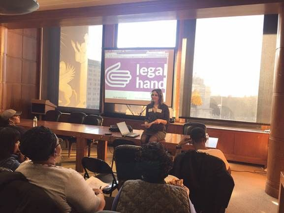 Legal Hand Kicks Off Volunteer Cycle #2 - Crown Heights Mediation ...