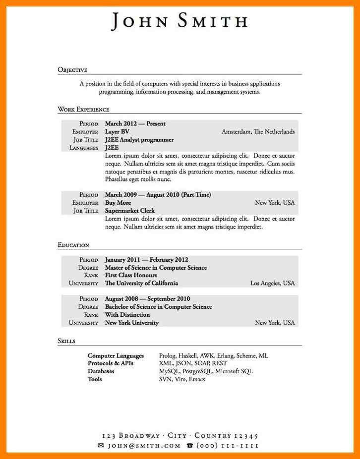8+ resume examples for highschool students | list of reference