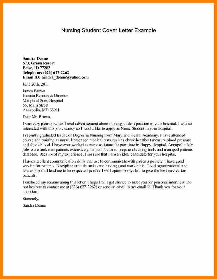 targeted cover letter sample