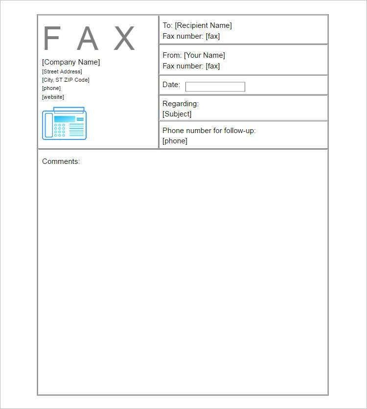 20+ Fax Cover Sheet Templates Free & Premium PDF | Creative Template