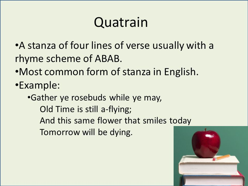 Poetry Literary Terms. Rhyme Occurs when the last vowel and ...