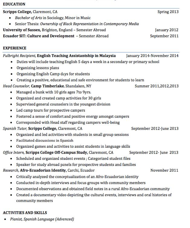 Sample Head Counselor Resume - http://exampleresumecv.org/sample ...