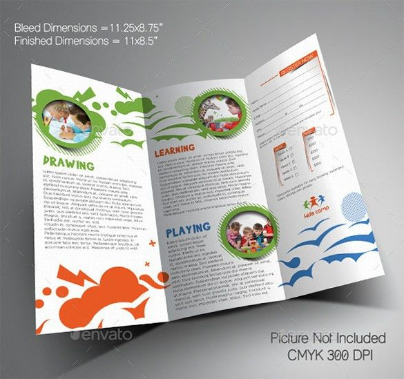 21+ Kindergarten Brochure Templates - Free PSD, EPS, AI, InDesign ...