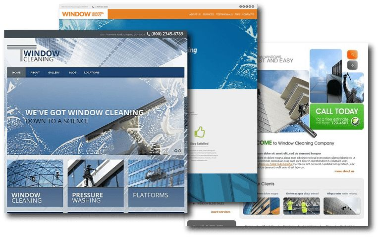Window Cleaner Website Developer