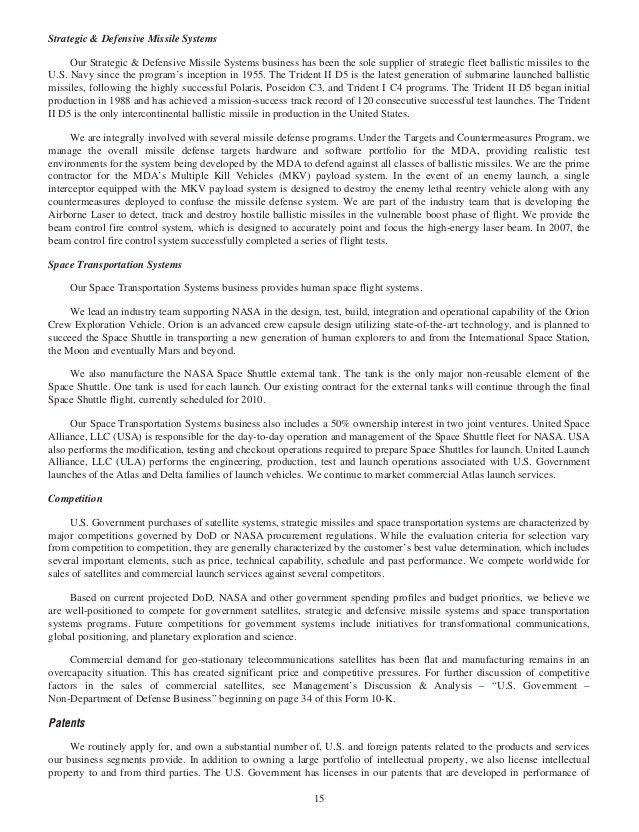 lockheed martin 2007 Annual Report