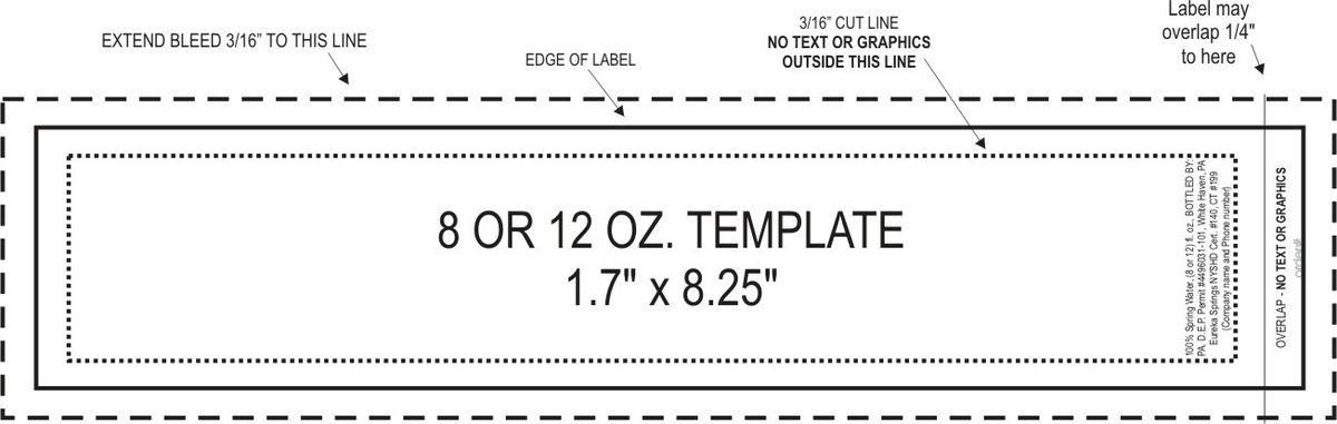 water bottle label template free word - thebridgesummit.co